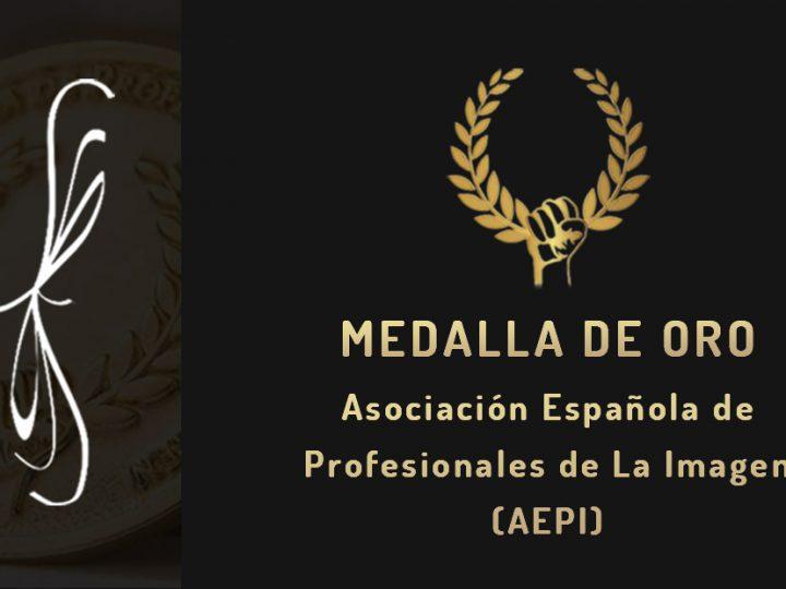 Premio Medalla de Oro – Asociación Española de Profesionales de la Imagen