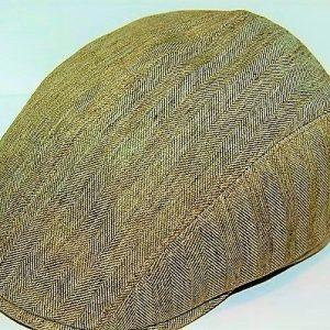 gorra lino beige