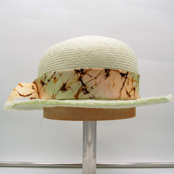 Sombrero Fibra Parasisal artesanal - Sombrerería Matilde Falcinelli