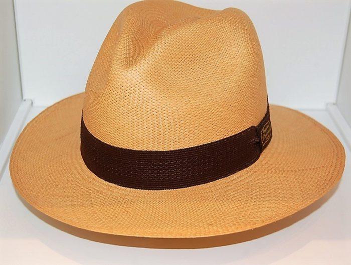 Sombrero Panamá Tostado- Sombrerería Matilde Falcinelli