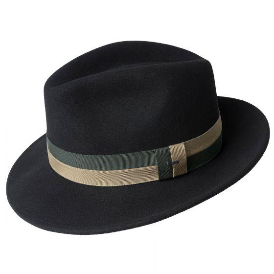 Sombrero Bidwell negro - Sombrerería Matilde Falcinelli