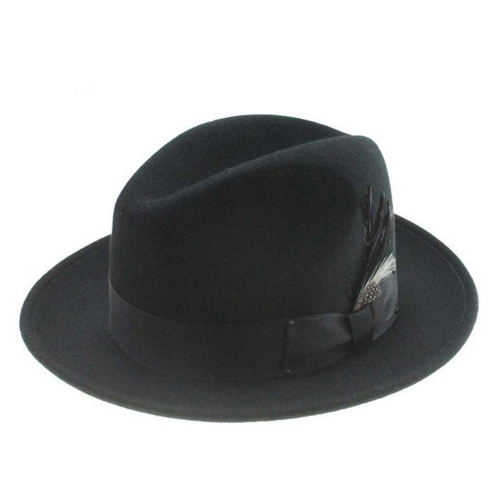 Sombrero Bailey Blixen Black - Sombrerería Matilde Falcinelli