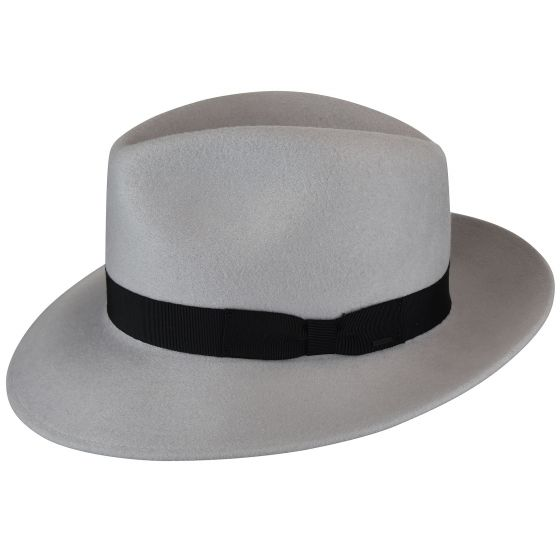 Sombrero Derby Black Criss Platinum - Sombrerería Matilde Falcinelli