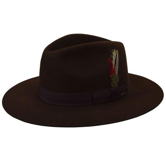 Sombrero Girvin chocolate - Sombrerería Matilde Falcinelli