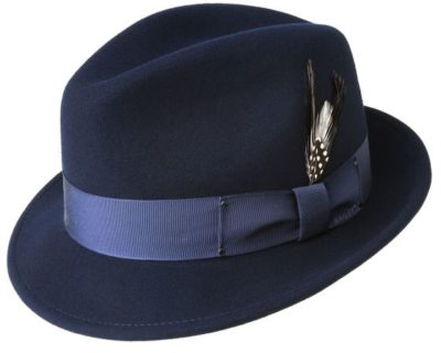 Sombrero fieltro ala corta Tino