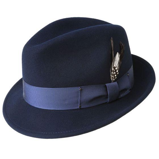 Sombrero fieltro ala corta Tino - Sombrerería Matilde Falcinelli