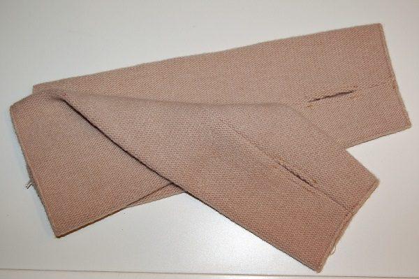 guante lana tipo mitón