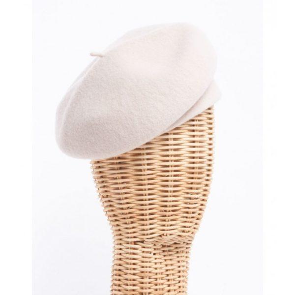 Boina beige - Sombrerería Matilde Falcinelli