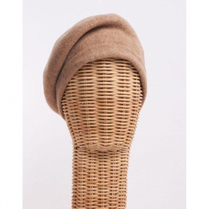 Boina camel - Sombrerería Matilde Falcinelli