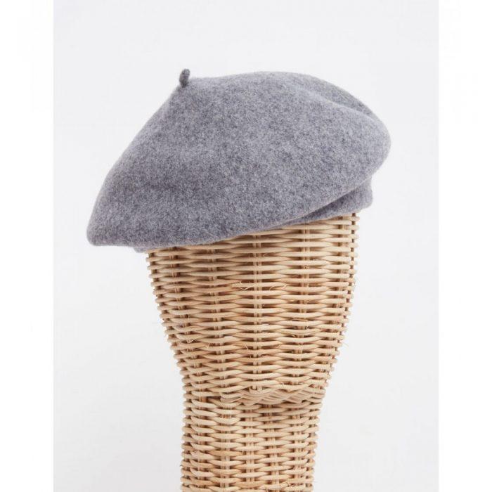 Boina gris - Sombrerería Matilde Falcinelli