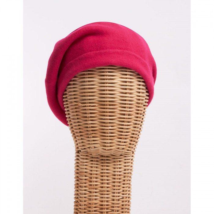 Boina pink - Sombrerería Matilde Falcinelli