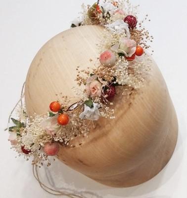 Corona Bianca - Sombrerería Matilde Falcinelli