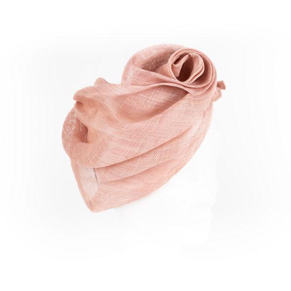 Casquete rosa - Sombrerería Matilde Falcinelli