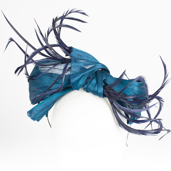 Lazada Megan Azul - Sombrerería Matilde Falcinelli