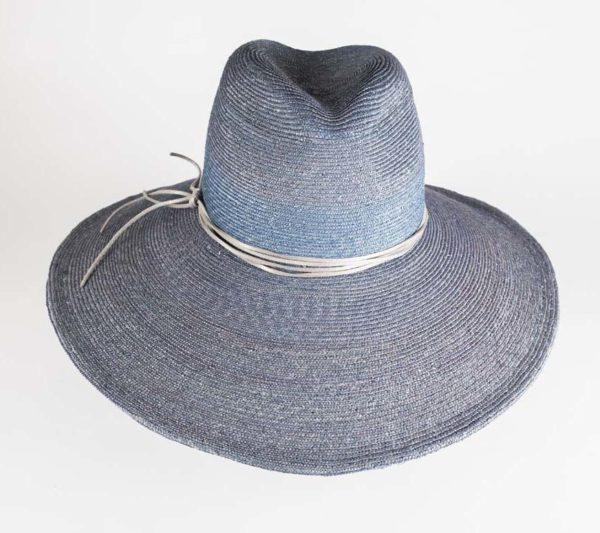 Sombrero Verona azul - Sombrerería Matilde Falcinelli