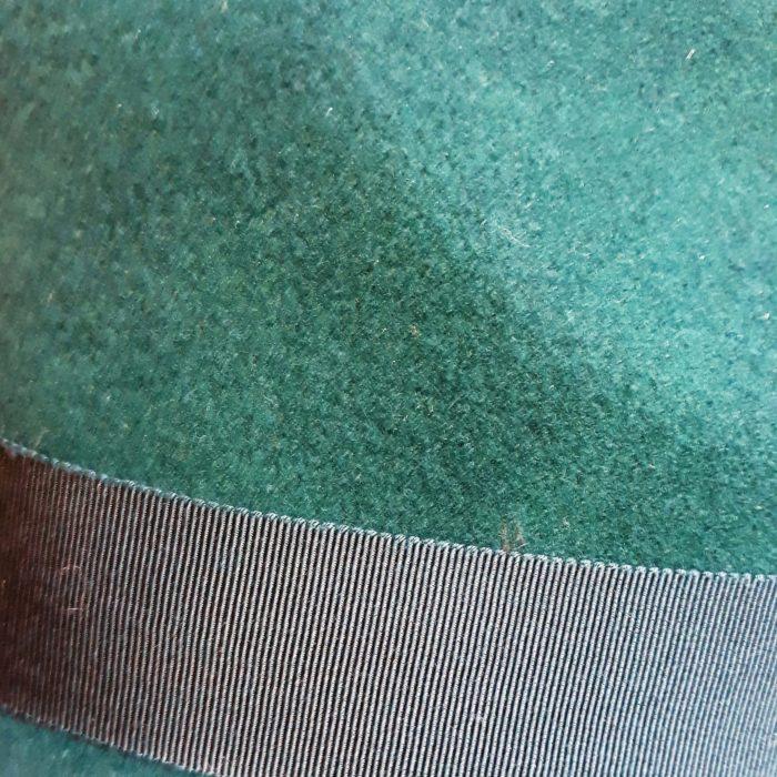 Sombrero invierno Blixen Verde - Sombrerería Matilde Falcinelli