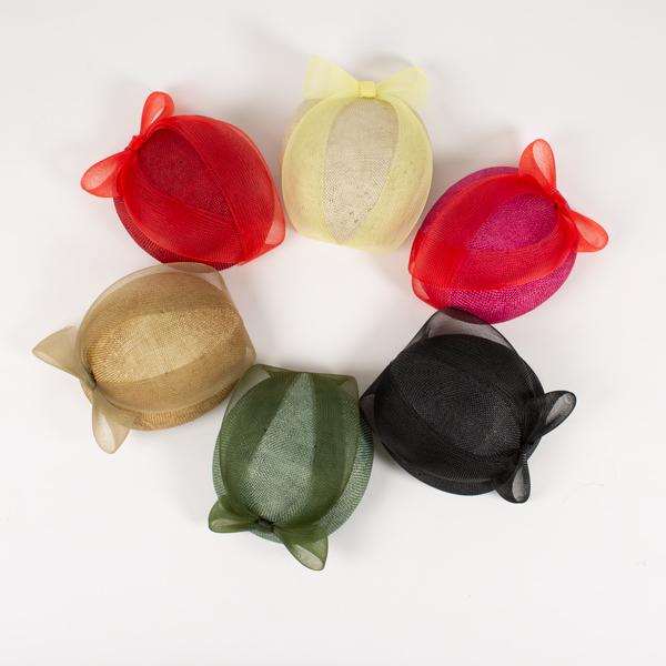 Tocado pillbox varios colores - Sombrerería Matilde Falcinelli