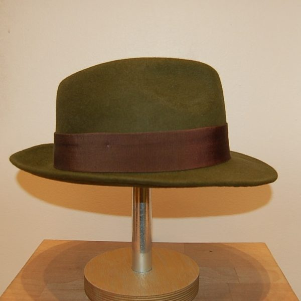 Sombrero Musk verde - Sombrerería Matilde Falcinelli