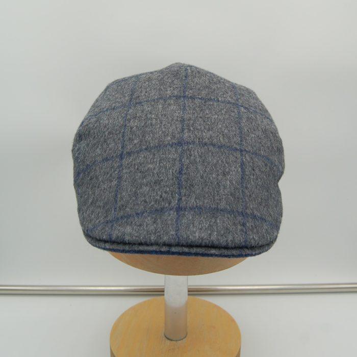 Gorra plana lana de camello Marone - Sombrerería Matilde Falcinelli