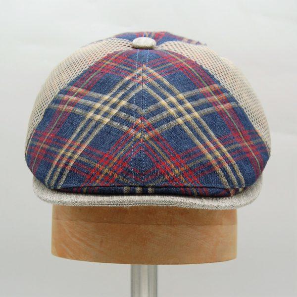 Gorra Golf con botón Alfonso D'Este - Sombrerería Matilde Falcinelli