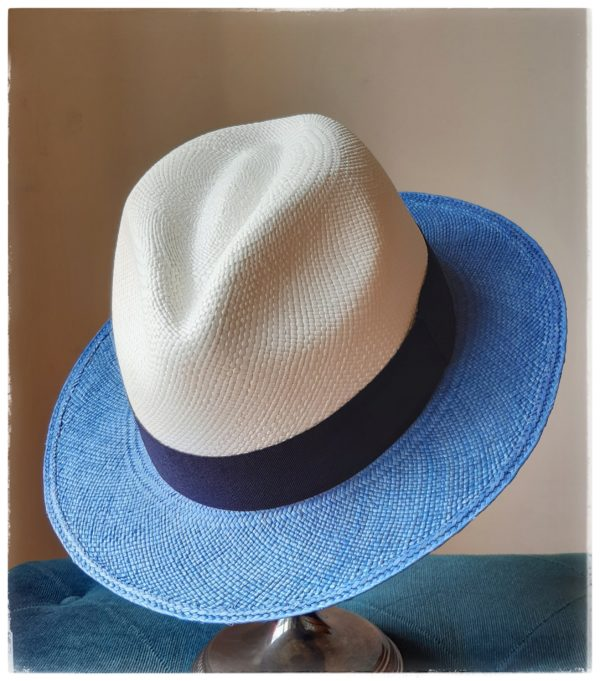 Sombrero Panamá Brisa Bicolor - Sombrerería Matilde Falcinelli