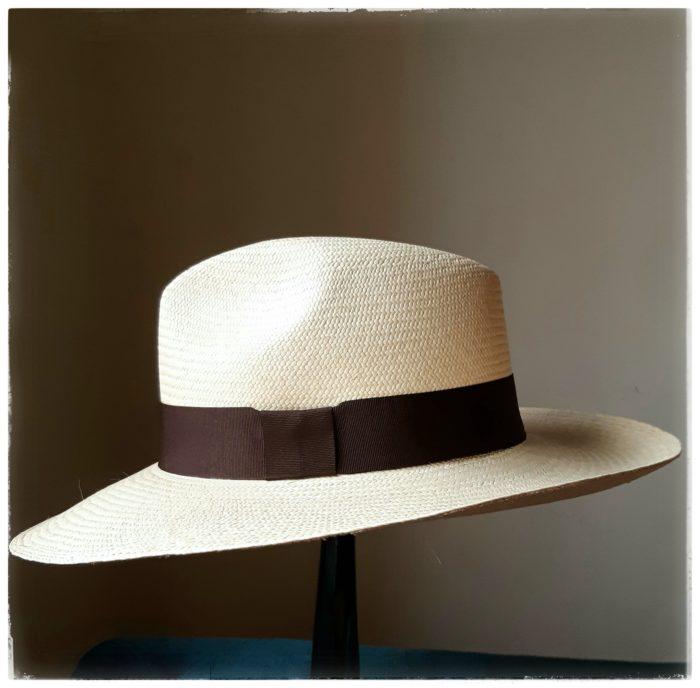 Sombrero Panamá Brisa Azul - Sombrerería Matilde Falcinelli