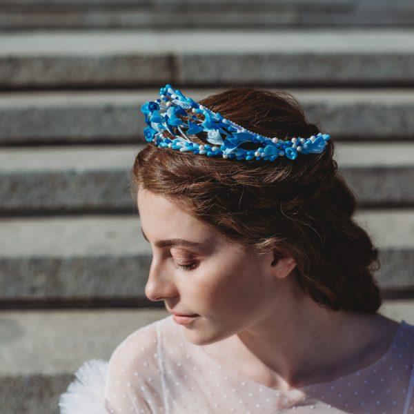 Tiara para novia Capri - Sombrerería Matilde Falcinelli