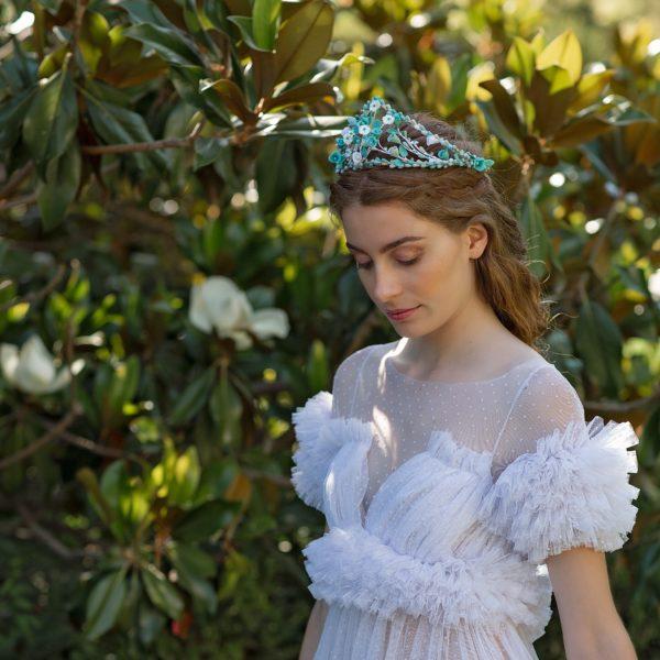 Tiara de novia Siena - Sombrerería Matilde Falcinelli