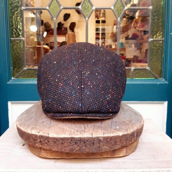 gorra plana lana tweed - Sombrerería Matilde Falcinelli
