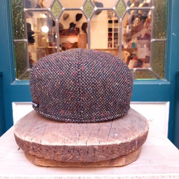 Gorra irlandesa tweed Marrón Marone - Sombrerería Matilde Falcinelli