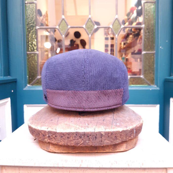 Gorra inglesa invierno Azul Marone - Sombrerería Matilde Falcinelli