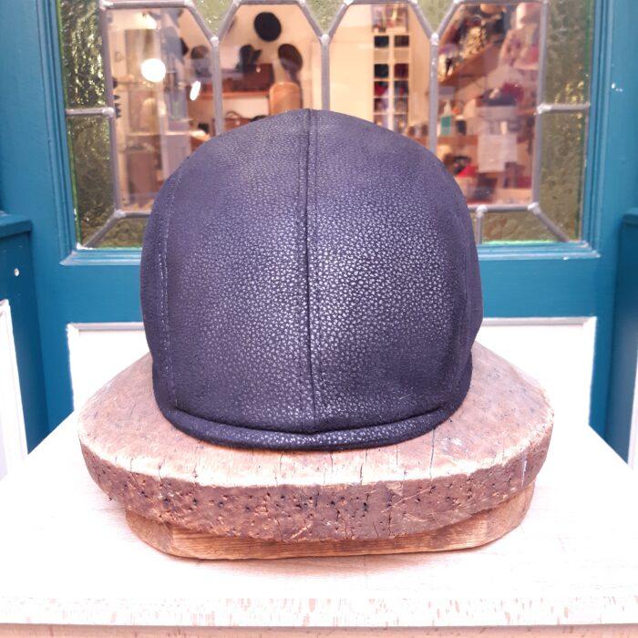 gorra piel - Sombrerería Matilde Falcinelli
