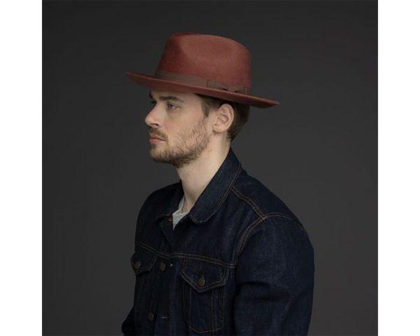 Sombrero Caballero Criss Mink - Sombrerería Matilde Falcinelli