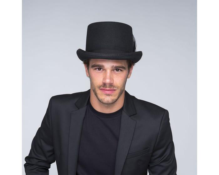 Sombrero copa Ice black - Sombrerería Matilde Falcinelli