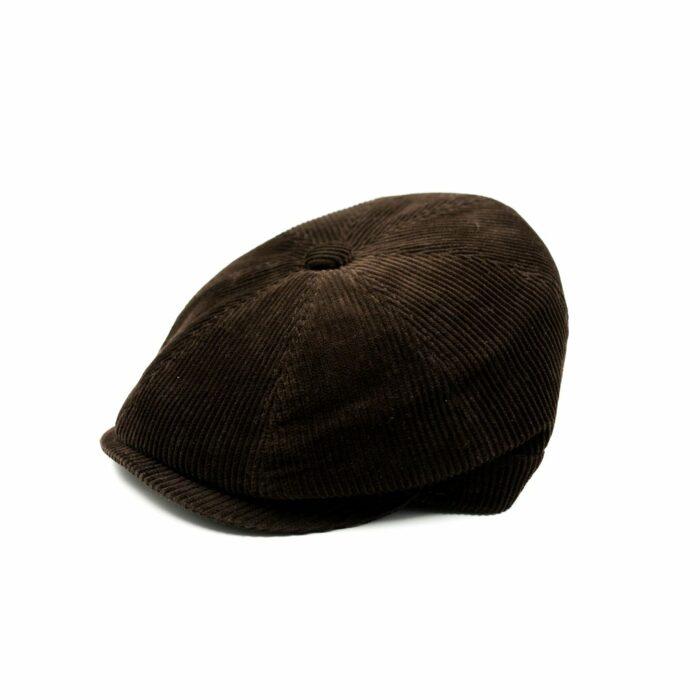 Gorra Pana con botón - Sombrerería Matilde Falcinelli