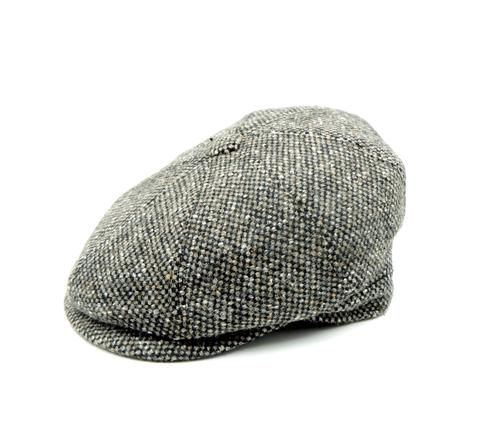 Gorra irlandesa con botón - Sombrerería Matilde Falcinelli