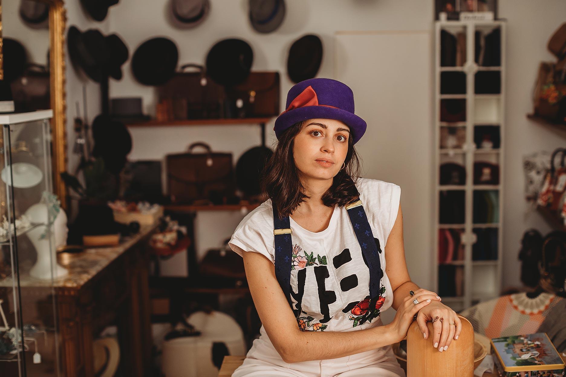 Sombreros artesanales - Falcinelli Sombrerería