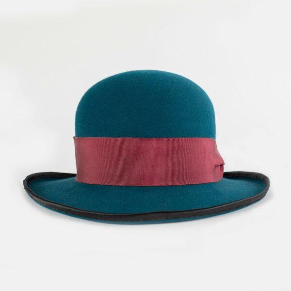 Sombrero copa redonda mujer