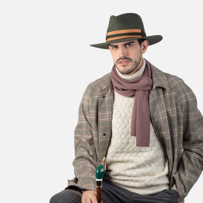 Sombrero ala plana
