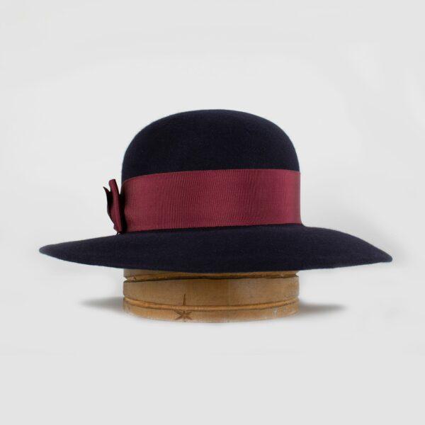 Sombrero copa redonda y ala ancha Firenze