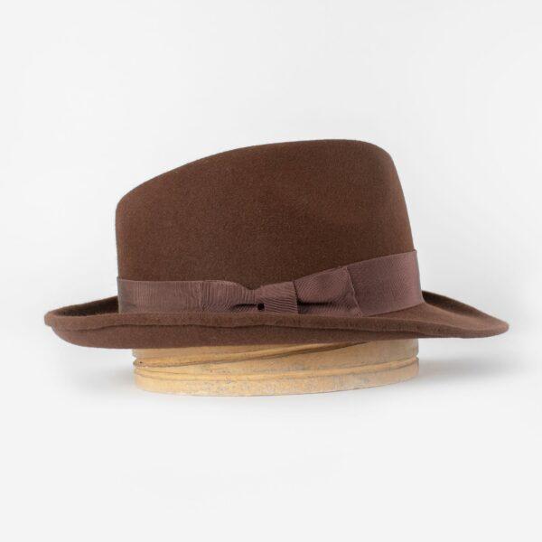 Sombrero caza marrón