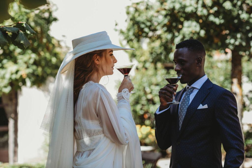 Tocados de novia artesanales y únicos - Sombrerería Matilde Falcinelli