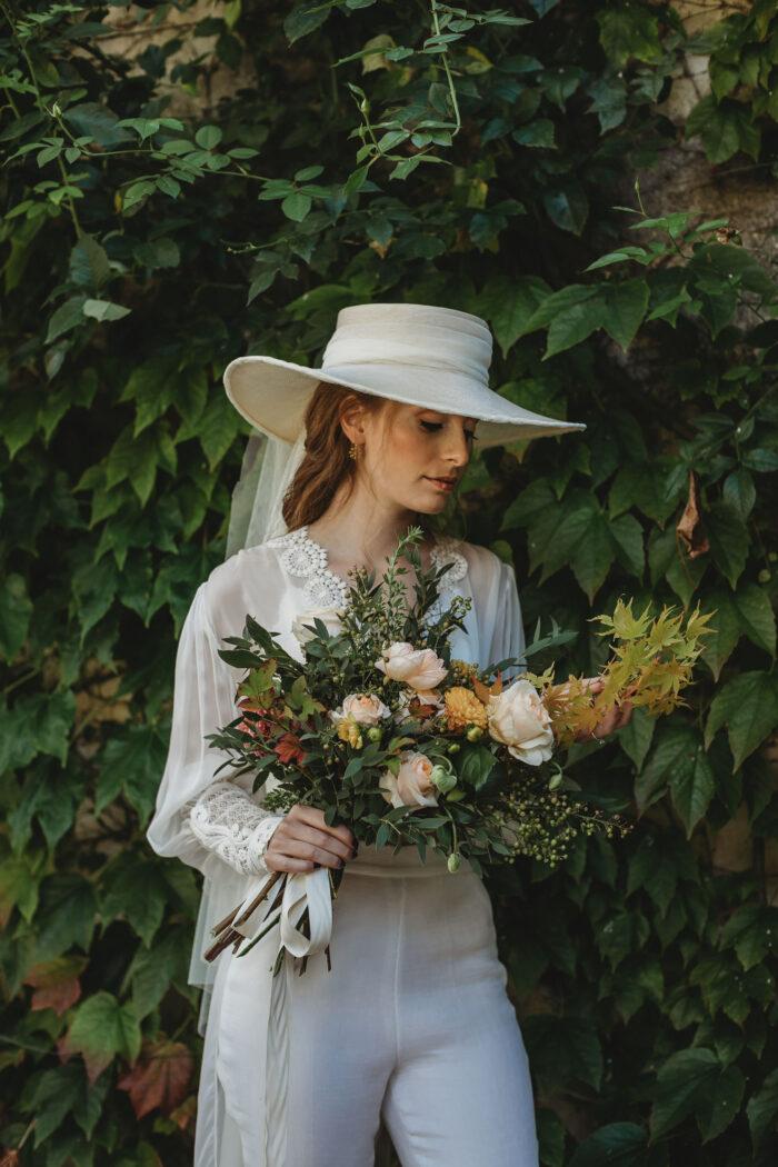 somnbrero velo novia